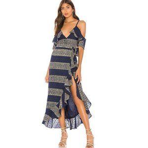 NWT Tularosa Margie Wrap Maxi Dress Size XS